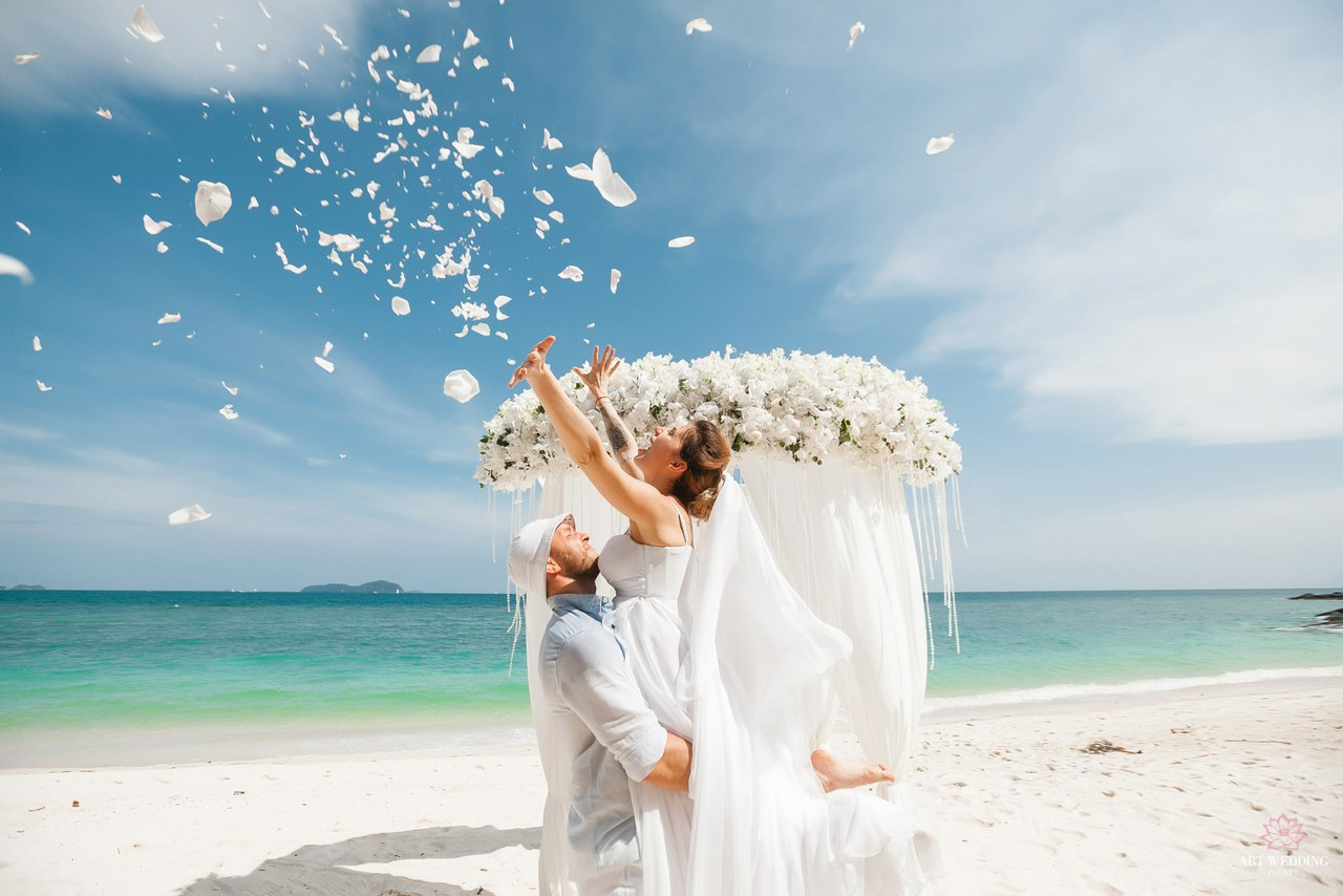 белый картинка свадьба пляж сортов связаны